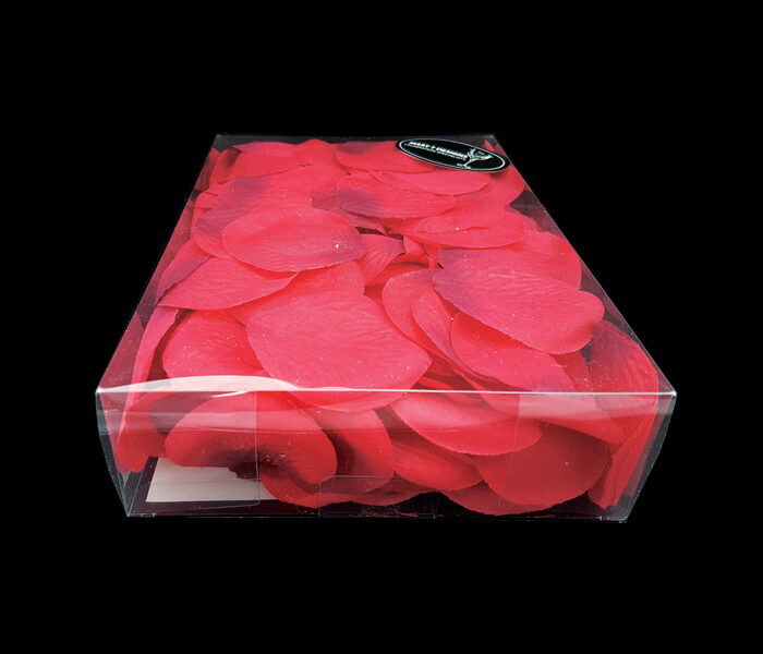 1006-695 Petals Rose petals 300 pce Red Can be washed will not stain 6.00