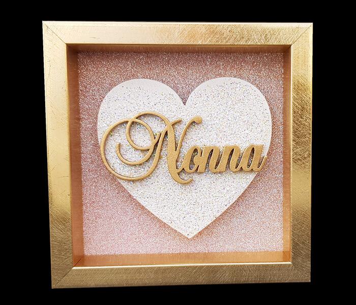 87796-(Nonna) $6.95 Small Heart Plaque