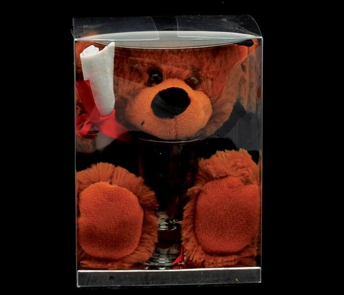 G2910 - $11.00 Shot Glass _ Graduation Bear Set