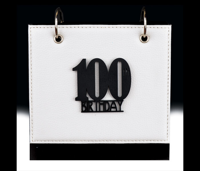 MTDAL-100LN $11.95 Designer Leather Flip Photo Albums. 36 Photos 4x6 Designed _ Decorated In Australia