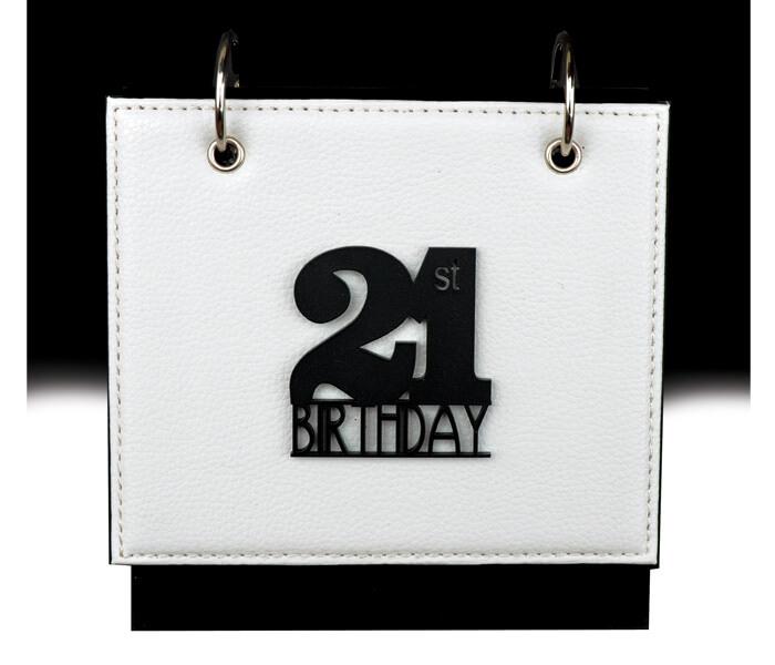 MTDAL-21LN $11.95 Designer Leather Flip Photo Albums. 36 Photos 4x6 Designed _ Decorated In Australia