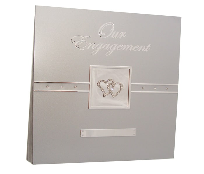 MTDE-AL Premium Engagement Aluminum Photo Album 33.8cmx33.2cm. 18 Self Adhesive sheets, Acid Free. Designed In Australia-min