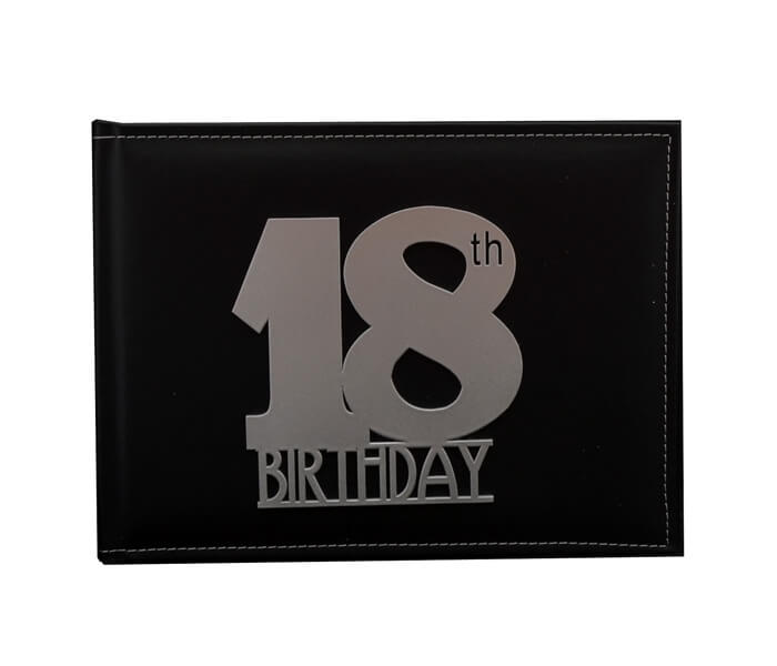 WDG-18LN(B) $19.95 Premium Leather Guest Books. Contains 36 Pages (Best Wishes, Guests, Gifts) Designed _ Decorated in Australia